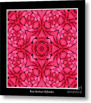 Metal Print featuring the photograph Ranunculus Flower Warp by Rose Santuci-Sofranko