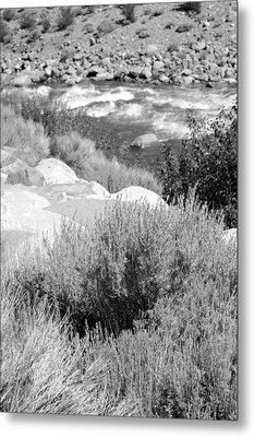 Rapids In White Mountains Metal Print by Harold E McCray