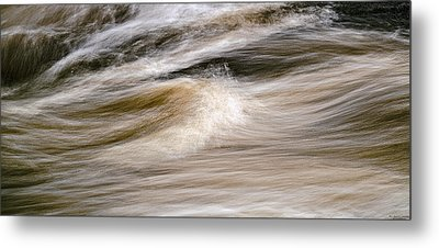 Metal Print featuring the photograph Rapids by Marty Saccone
