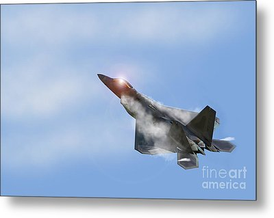 Raptor Vapour Metal Print by J Biggadike