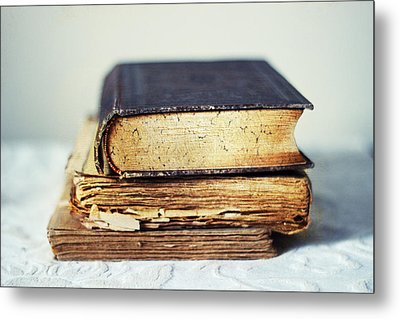Rare Books Metal Print by Jessica Jenney