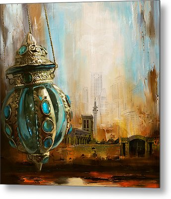 Ras Al Khaimah Metal Print by Corporate Art Task Force
