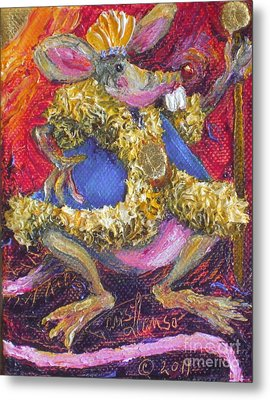 Rat King Metal Print by Paris Wyatt Llanso