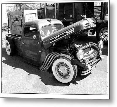Rat Rod Hot Rod Metal Print by Kip Krause
