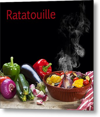 Ratatouille Concept Metal Print by Colin and Linda McKie