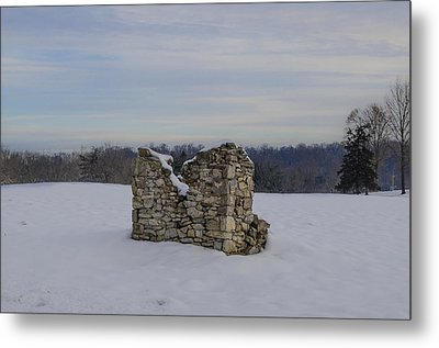 Ravages Of Winter Metal Print by Bill Cannon