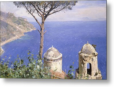 Ravello Metal Print by Peder Monsted