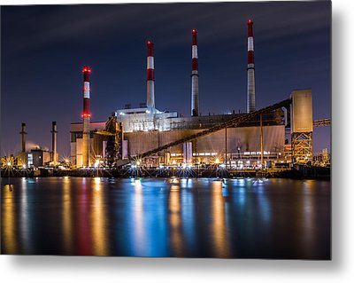 Ravenswood Generating Station Metal Print