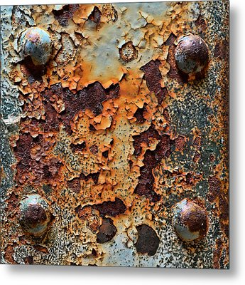 Raw-extract Metal Print
