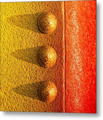 Metal Print featuring the photograph Raw Steel by Tom Druin