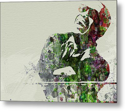 Ray Charles Metal Print by Naxart Studio