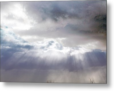Ray From Heaven Metal Print by Rhonda Humphreys