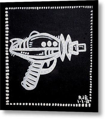 Ray Gun  Metal Print by Josh Brown