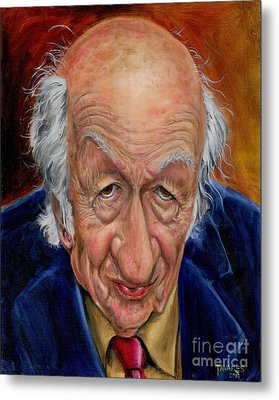 Ray Harryhausen Metal Print