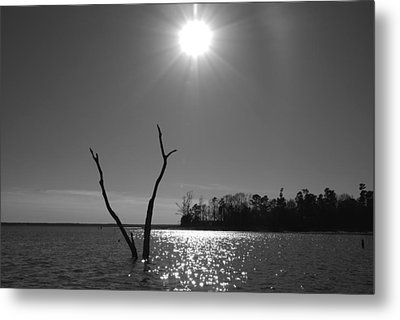 Metal Print featuring the photograph Rayburn Sky by Max Mullins