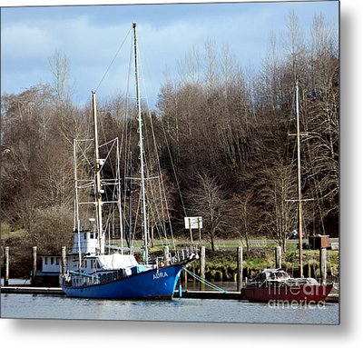 Raymond Fishing Boats Metal Print