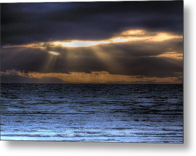 Rays Of Light  Metal Print by Naman Imagery