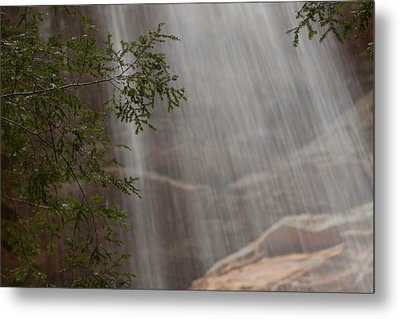 Rays Of Water Metal Print by Haren Images- Kriss Haren