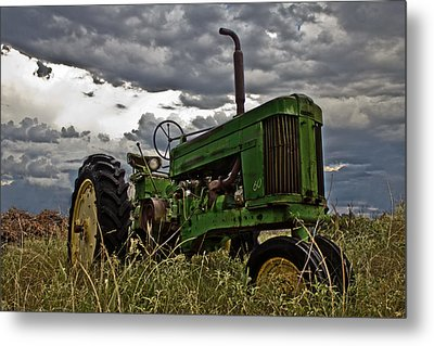 Ray's Old Popping Johnnie Metal Print by Mamie Thornbrue