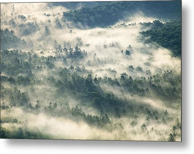 Rays Through The Clouds Metal Print by Andrew Soundarajan
