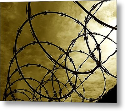 Razor Sharp Metal Print