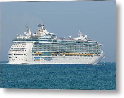 Rci Freedom Of The Seas Metal Print