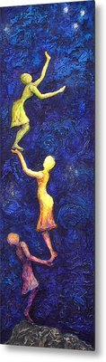 Reach For The Stars Metal Print by Linda Carmel