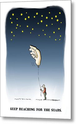 Reach For The Stars Metal Print by Mark Armstrong