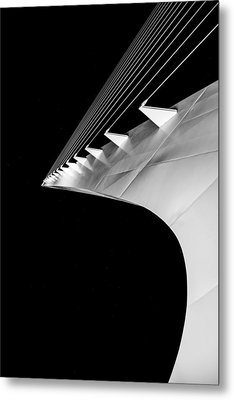 Reading A Sundial At Midnight Metal Print