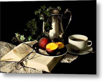 Reading Glasses Metal Print by Diana Angstadt