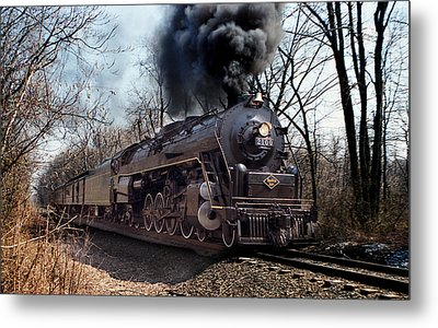 Metal Print featuring the photograph Reading Line 2100 by Judi Quelland