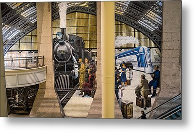 Reading Terminal Metal Print by Glenn DiPaola