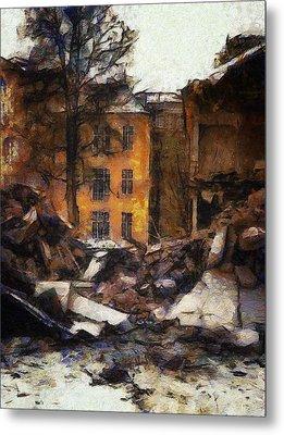 Ready For Demolition Metal Print by Gun Legler