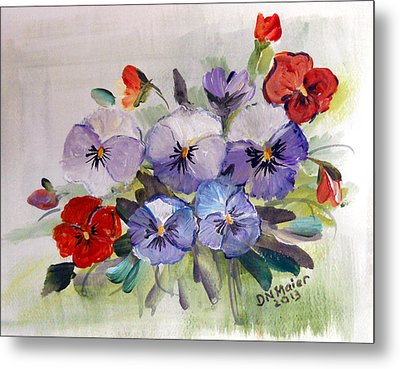 Ready For Spring Metal Print by Dorothy Maier