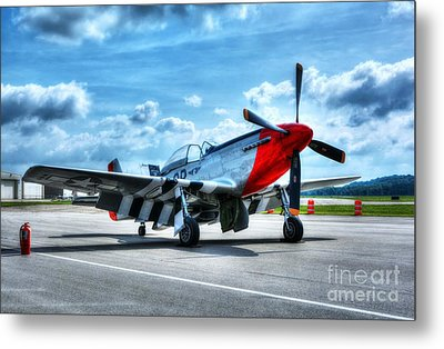 Ready For Takeoff Metal Print by Mel Steinhauer