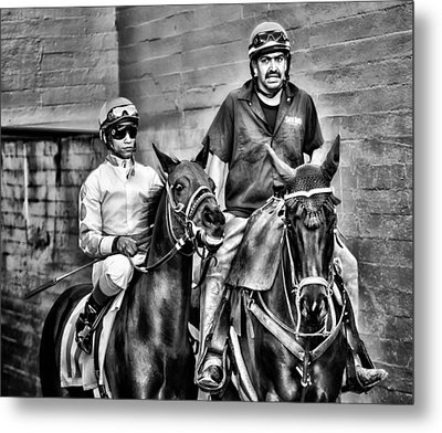 Ready To Race Metal Print by Camille Lopez