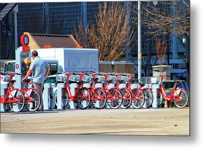 Ready To Ride Metal Print by Dan Sproul