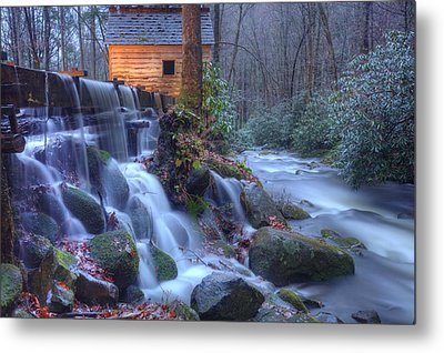 Metal Print featuring the photograph Reagan's Mill by Doug McPherson