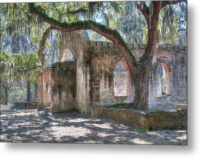 Rear View Of The Chapel Of Ease Metal Print by Scott Hansen