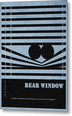 Rear Window Metal Print by Ayse Deniz