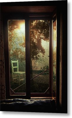 Rear Window Metal Print by Taylan Apukovska