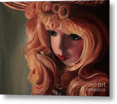 Metal Print featuring the painting Rebecca by Jane Autry