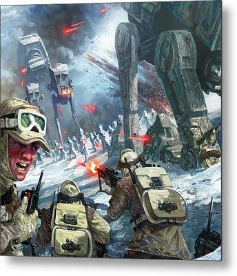 Rebel Rescue Metal Print