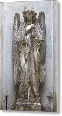 Recoleta Angel Metal Print by Venetia Featherstone-Witty