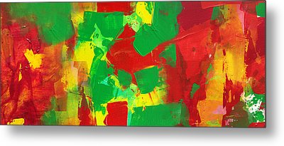Recombinant Landscape 3 Metal Print by Paul Ashby