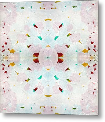 Recombinant Mandala 2 Metal Print by Paul Ashby