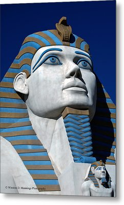 Recreation - Great Sphinx Of Giza Metal Print