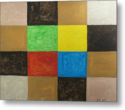 Rectangles Metal Print by Stormm Bradshaw