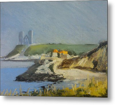 Reculver Haze Metal Print by Paul Mitchell