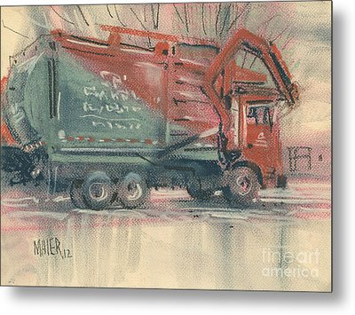 Recycle Metal Print by Donald Maier